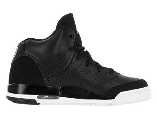 Nike Jordan Flight Tradition Bg, Chaussures de Sport Garçon Noir / Blanco (Black / White-White)