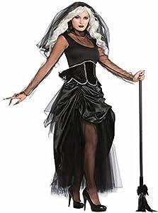 Bristol Novelty Forum Novelties x76248Hembra Sombra Fantasma Disfraz (Talla UK 10-14)