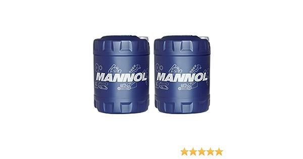 Mannol 2 X 10l 80w 90 Hypoid Gear Oil Gl 4 Gl 5 Ls Manual Transmission Axle Oil Auto