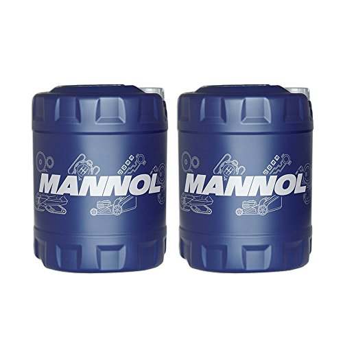 MANNOL 2 x 10L Racing+Ester 10W-60 CF/Vollsynthetisches PKW Motorrad Motoroel