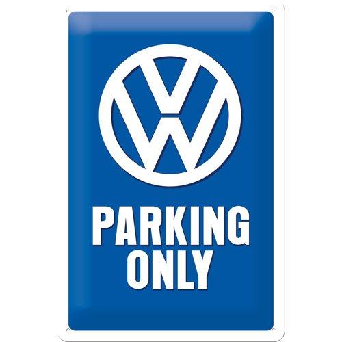 nostalgic-art-22194-plaque-en-metal-parking-reserve-aux-volkswagen-en-anglais-20-x-30-cm