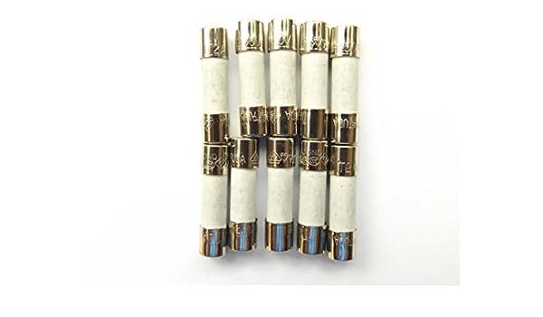 Fuse 2a 20mm HBC Antisurge T2A H 250v  Ceramic   x10pcs