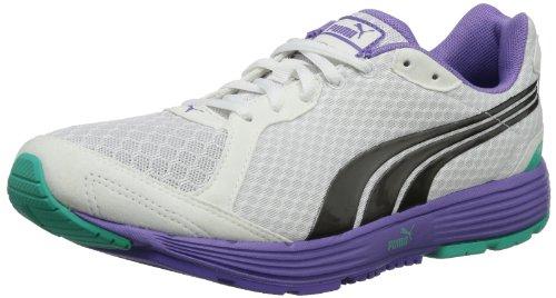 Puma Descendant V1.5 Wn'S, Chaussures de sports extérieurs femme Blanc Cassé - Weiß (white-aged silver 02)