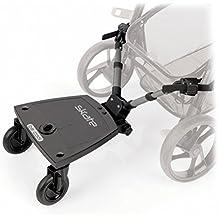 Be Cool  - Patinete universal  skate seat 502 para coche de paseo negro