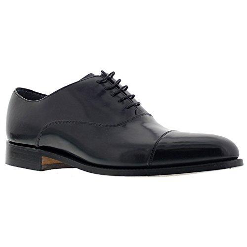 Barker Mens Winsford Leather Shoes Black