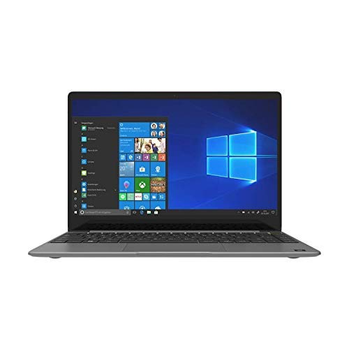 TREKSTOR PRIMEBOOK U13B-Po, Volks-Notebook (13, 3 Zoll Full-HD IPS Touch Display, Intel Pentium N5000, 4 GB RAM, 64 GB Speicher, Fingerprintsensor, JBL Sound, Windows 10, inkl. Office 365) dunkelgrau