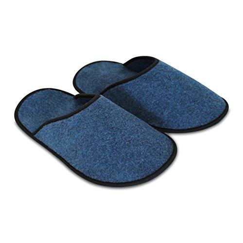 Dünner Faltbar Cm Blau Strapazierfähiger Klein Überziehschuhe 30 Museumspantoffeln Filz 5 Schuhüberzieher Paar Innenlänge wXqRUHx
