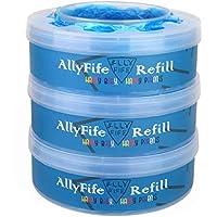 AllyFife - Papelera de repuesto compatible con Tommee Tippee Sangenic Tec y Twist & Click