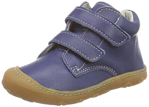 Ricosta Chrisy, Baskets hautes mixte enfant Bleu - Blau (kobalt 156)