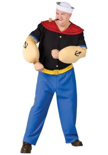 Plus Size Popeye Fancy dress costume 2X