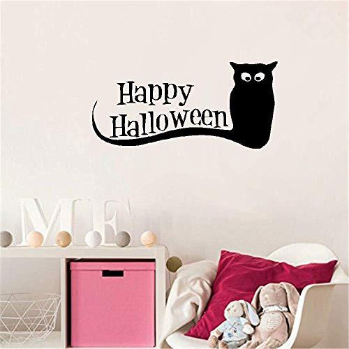 Wandaufkleber Kinderzimmer wandaufkleber 3d Happy Halloween Eule Zitate Wand Wohnzimmer Schlafzimmer Halloween Festival Home Decor