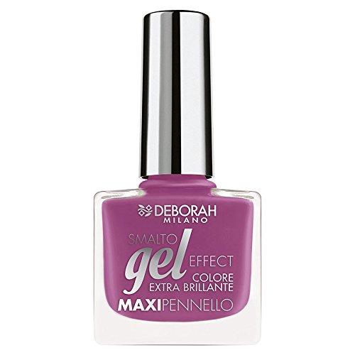 Deborah Milano Gel Effect Nail Polish, 75 Attractive Violet, 8.5ml