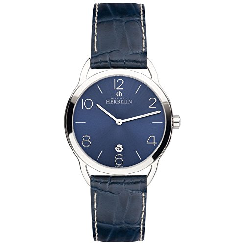 Michel Herbelin Equiliero noxe Reloj de hombre azul/plata 19577/15BL