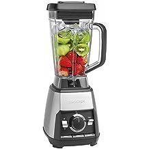 Concept Electrodomésticos SM8000 Batidora smoothie 1600 W, 2 litros, Vidrio, Gris y negro