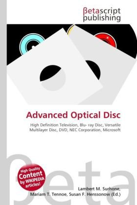 Advanced Optical Disc: High Definition Television, Blu- ray Disc, Versatile Multilayer Disc, DVD, NEC Corporation, Microsoft