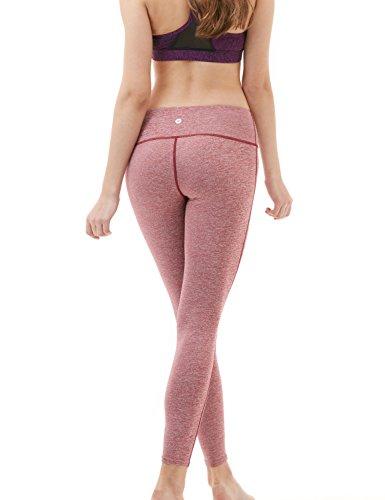 Tesla yoga pantaloni leggings mid-waist W tasca nascosta FYP41/FYP51 TM-FYP41-SDR