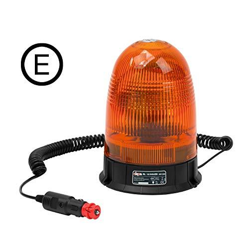 DEMA LED Rundumleuchte gelb 12V mit Magnetfuß Gelb 12