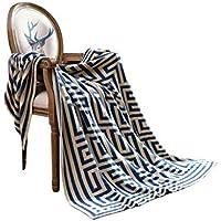 XDFCV Textiles,warmes Innenzubehör Dekorative Decke Sofa Freizeit Nap Decke Cotton Bed Blanket Decke