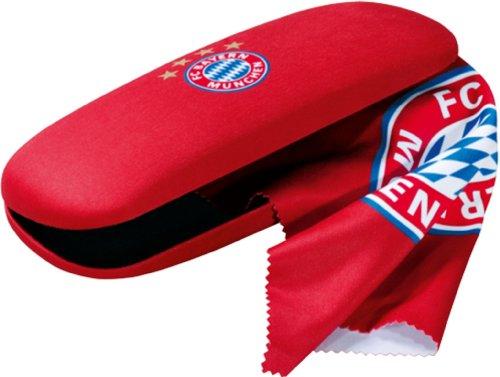Preisvergleich Produktbild FC Bayern München Brillenetui Logo