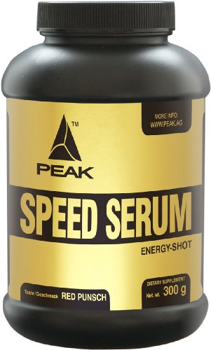 Peak Speed Serum (Energizer), 300 gr Pulver - Red Punch