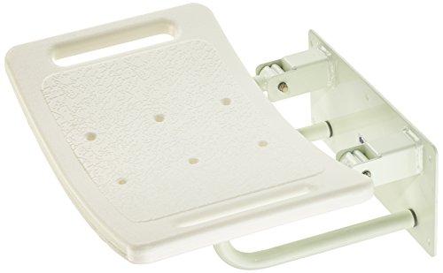 Patterson Medical - Asiento para ducha (para personas con movilidad reducida, para fijación a la pared)