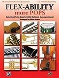 FLEX ABILITY MORE POPS - arrangiert für vier Stimmen - Altsaxophon - (Baritonsaxophon) [Noten/Sheetmusic]