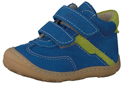 Ricosta 2020700, Chaussures basses bébé garçon - Marron (Mokka/Pea 284), 20 EU
