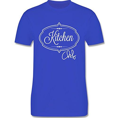 Küche - Kitchen Chef Küchenchef - Herren Premium T-Shirt Royalblau