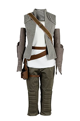 Star Wars 8 The Last Jedi Rey Outfit -