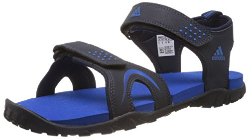 42e36b5e0 Adidas 8902821661564 Mens Dark Navy And Sturdy Blue Synthetic Sandals And  Floaters- Price in India