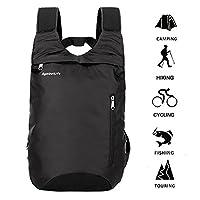 Laptop Backpack, SymbolLife Slim Lightweight Water-Resistant Multipurpose Shoulder Notebook Bag for up to 14 Inch Laptop Notebooks, Tablets Black