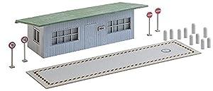 Faller FA 130172-Báscula para Camiones con Oficina Edificios, Accesorios para el diseño de ferrocarril, Modelo