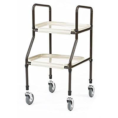 Mobility handy trolley walker with 2 shelves - Adjustable height - inexpensive UK light store.