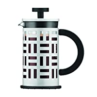 12 oz. , White : Bodum 11198-913 Eileen 3-Cup Coffee Maker, 12-Ounce, Off-White