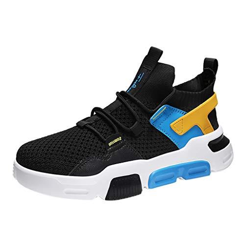 MMLC_Scarpe Scarpe da Corsa Uomo, Ginnastica Scarpe Trail Running Traspiranti Scarpe Uomo Palestra Sneakers Elegante Sportivo Scarpe Atletica Leggera On Running