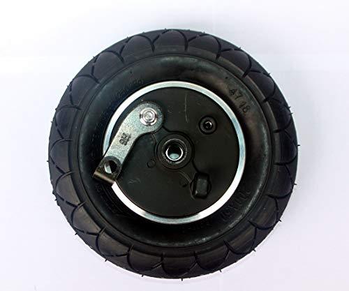 """L-faster 8-Zoll-Rad mit Trommelbremse 8\""""pneumatisches Rad mit Expansionsbremse elektrische Roller-Bremse Aluminium-Rad 200x50 Radbremse (Wheel)"""
