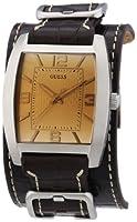 Reloj Guess W0186G2 de cuarzo para hombre con correa de piel, color marrón de Guess