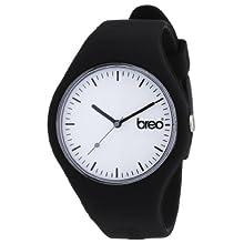 Breo - B-TI-CLC7 - Montre Mixte - Analogique - Bracelet Caoutchouc Noir