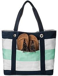 Big Hot Sale Clean Stock Low Price Top Handle Beach Drawstring Tote Handbag Purse