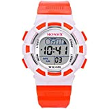 Clearance Sale! Waterproof Children Boys Digital LED Sports Watch Kids Alarm Date Watch Gift - B07H6WDHT8