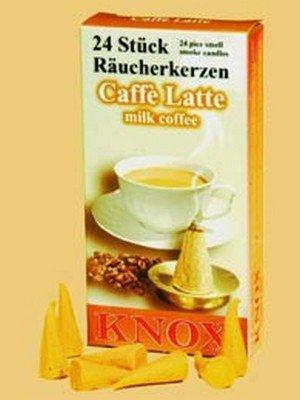 Räucherkerzen - Caffee Latte - Original Erzgebirge Räuchermann - Knox