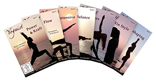 Körper Genießen (Yogaist Mind & Body Reihe - Package Teil 1-7 [7 DVDs])