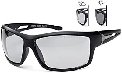 fotocromáticas & Wayfarer Gafas de sol polarizadas ARCTICA s-203F. Para hombre y mujer. UV 400