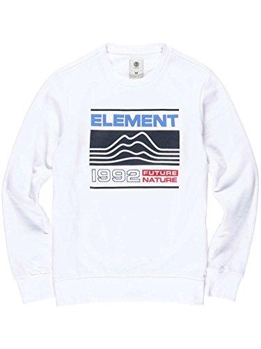 Element Hodges Crew Neck Optic White