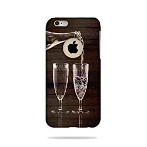 Apple iphone 6 Logo Cut Printed Back Cover / Case (3D -AA101)