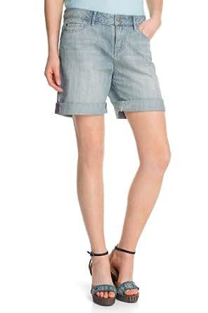 ESPRIT - Jeans - Boyfriend Femme - Bleu - Blau (417 super bleach) - FR : 26 (FR 36) (Brand size : 26)
