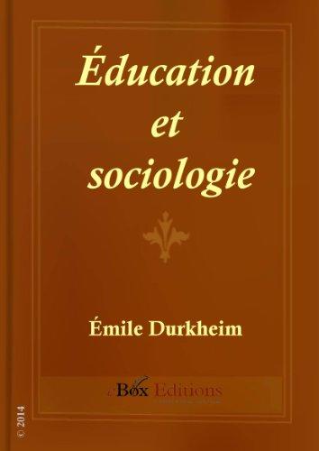 Éducation et sociologie par Émile Durkheim