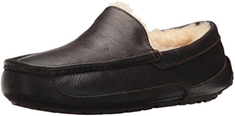 Zapatilla Ascot para hombre, negra, 18 M US
