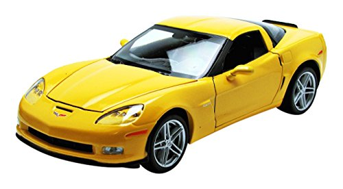 welly-22504y-chevrolet-corvette-2007-echelle-1-24