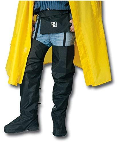 HOCK Regengamaschen Überschuhe Extra Lang - Die Praktische Alternative zur Regenhose - 100% Wasserdicht - Schutz vor Schnee und Regen beim Radfahren - S